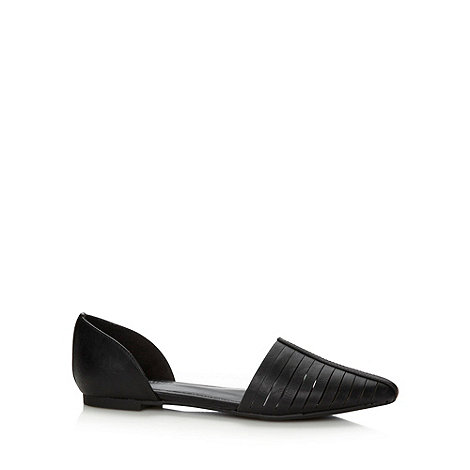 Call It Spring - Black +Concas+ pointed pumps