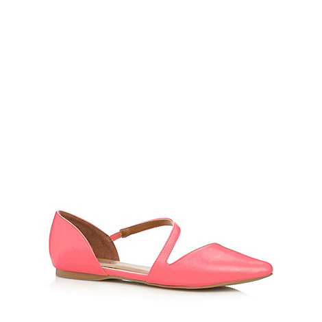 Call It Spring - Coral +Treggio+ wraparound strap shoes