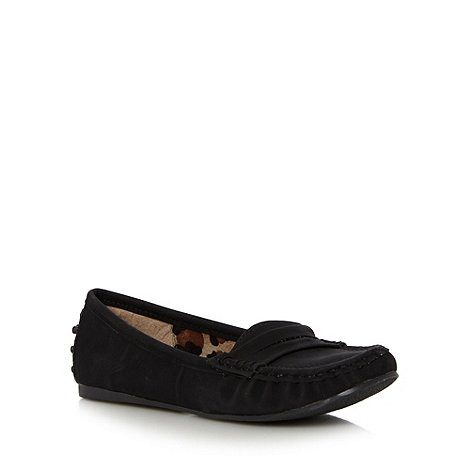 Call It Spring - Black +Cherravia+ stitch loafers