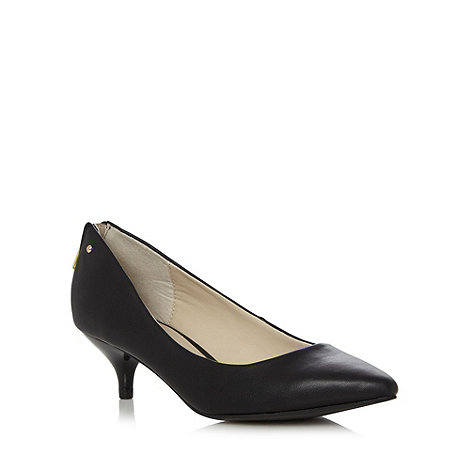 Call It Spring - Black +Uhubitu+ kitten heel court shoes