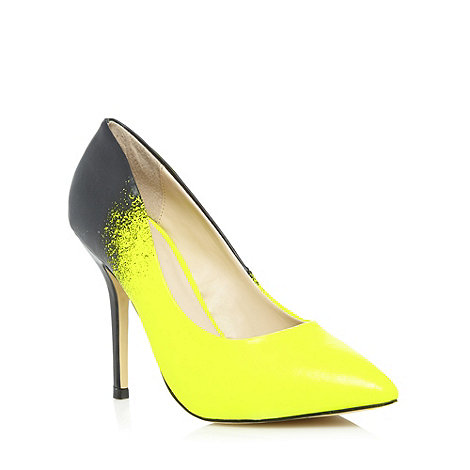 Call It Spring - Yellow +Quinzano+ ombre point toe court shoes