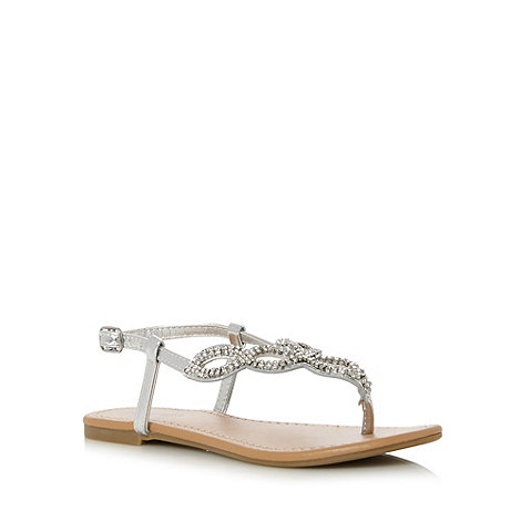 Call It Spring - Silver 'Stalwart' sandals