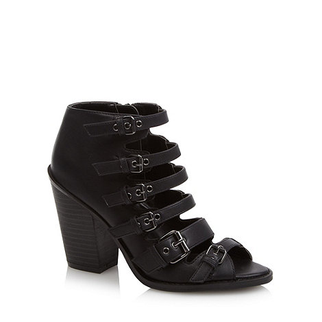Call It Spring - Black 'Borassi' high heel sandals