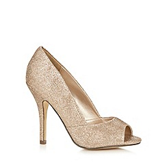 Call It Spring - Light gold 'Repetti' high court shoes