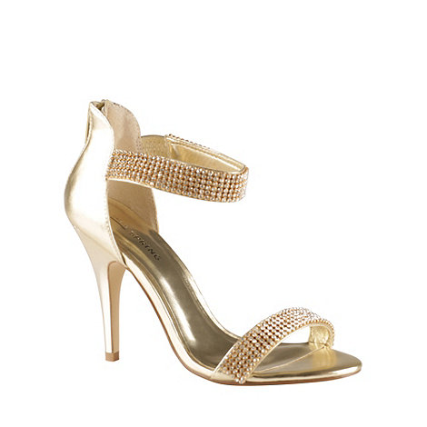 Call It Spring - Light gold +Samatorza+ high heeled sandals