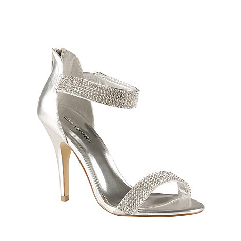 Call It Spring - Silver +Samatorza+ high heeled sandals