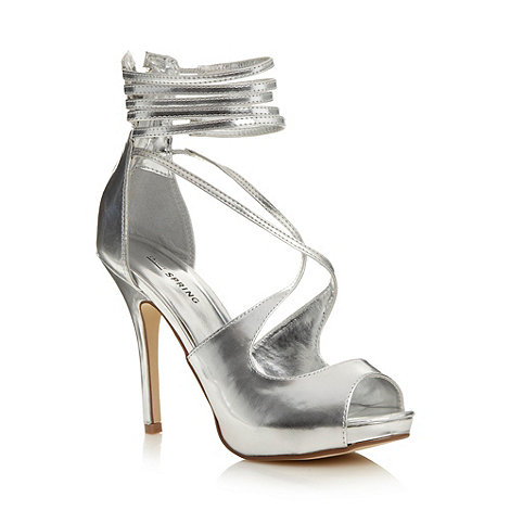 Call It Spring - Silver +Dority+ platform court shoes