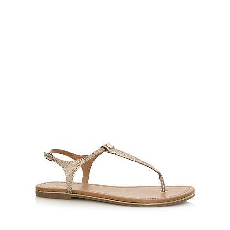Call It Spring - Light gold +Lovenawen+ sandals