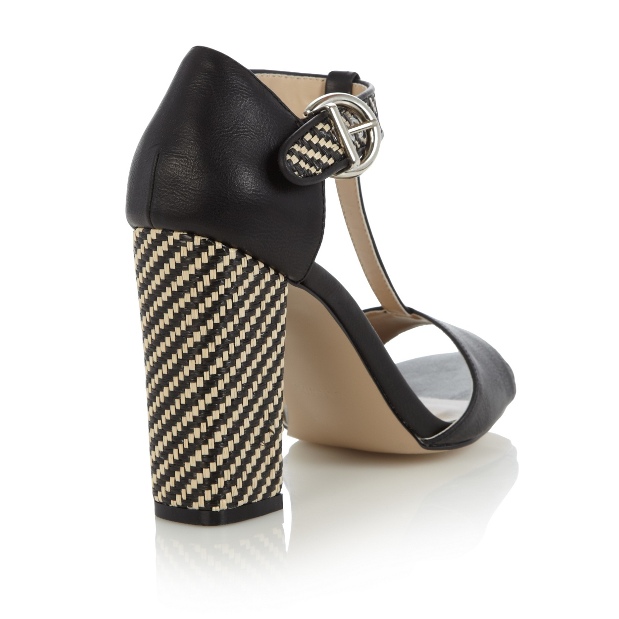 Black sandals debenhams - Call It Spring Black Ybaevia Woven Block Heeled Sandals Was 45 00 Now 22 50 Now 13 50 70 Off Save A Total Of 31 50