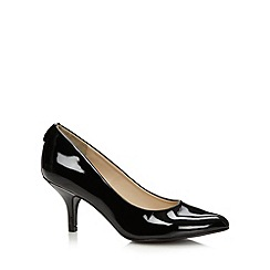 Call It Spring - Black 'Roessing' mid heel court shoes