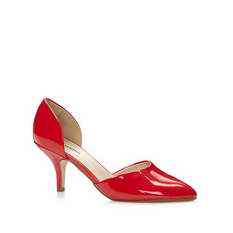 Call It Spring - Red +Gworewiel+ patent court shoes