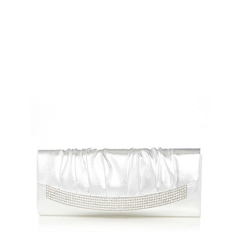 Call It Spring - Silver +Gussola+ clutch bag