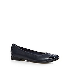 Clarks - Navy 'Atomic Haze' pumps