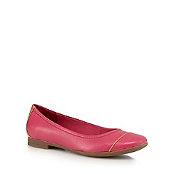 Clarks - Bright pink 'Atomic Haze' slip-on shoes
