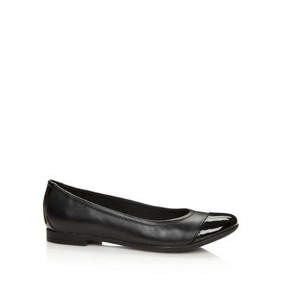 Clarks Black ´Atomic Haze´ patent leather pumps - . -