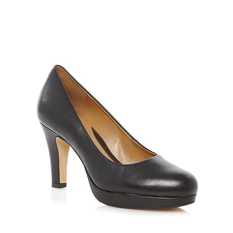 Clarks - Black +Anika Kendra+ high court shoes