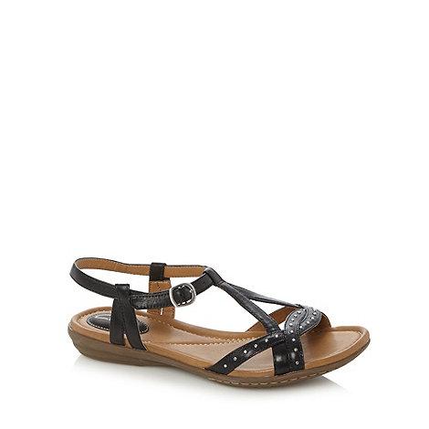 Clarks - Black+Royal Hannah+ studded sandals
