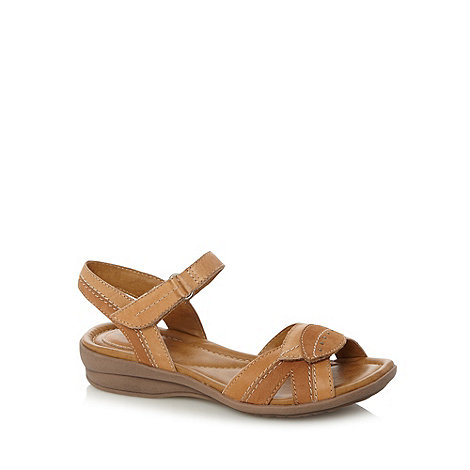 Clarks - Tan leather +Reid sun+ sandals