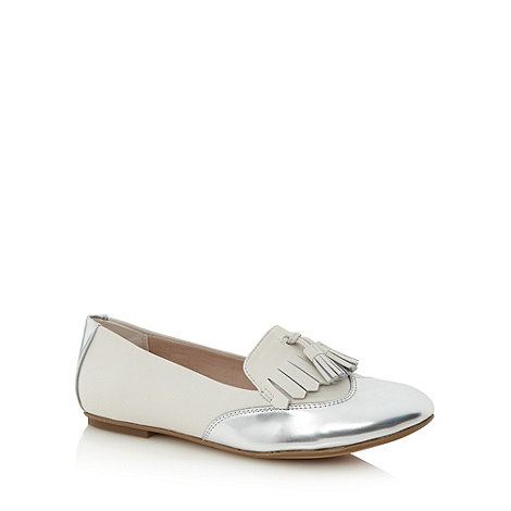 Clarks - White +Gin Crush+ loafers