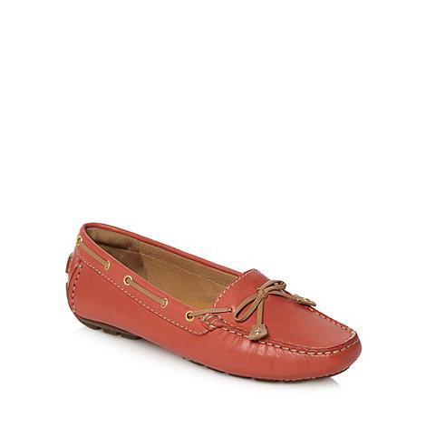 Clarks - Navy +Dunbar Racer+ boat shoes