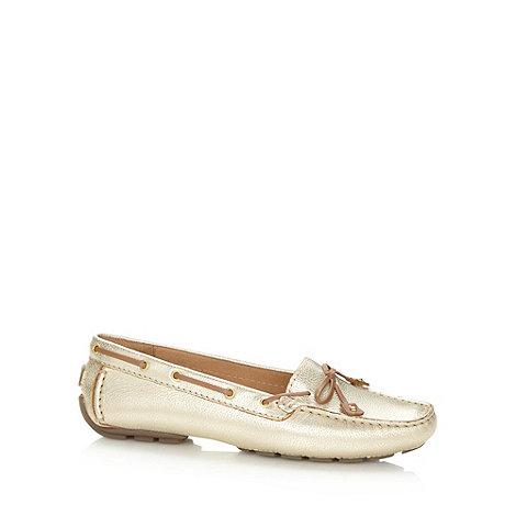 Clarks - Gold +Dunbar Racer+ boat shoes