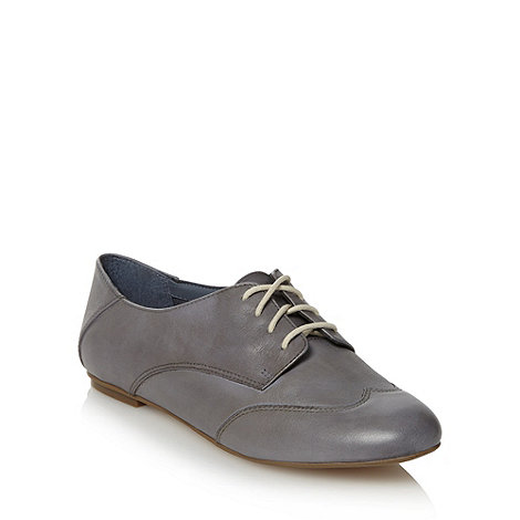 Clarks - Light blue leather +Gin Spritz+ lace up shoes