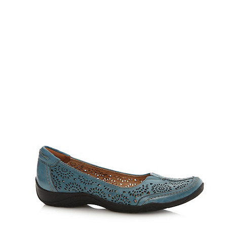 Clarks - Blue +Kelita Gazebo+ pumps