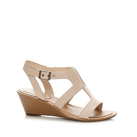 Clarks - Natural +Our Style+ mid heel sandals