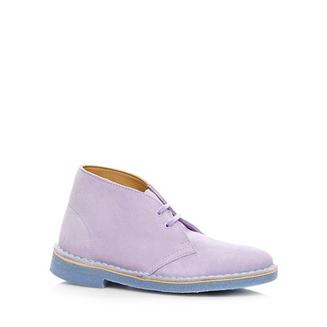 Clarks - Lilac +Desert Boot+ ankle boots