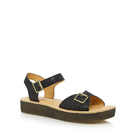 Clarks - Black leather +Linnet+ sandals