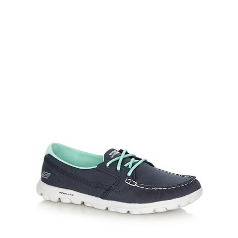 Skechers - Navy +On The Go - Unite+ casual moccasins