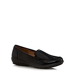 Hotter - Black snake shoes