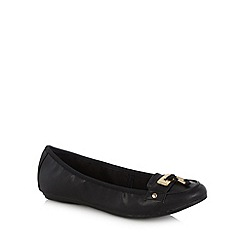 Call It Spring - Black 'Gersh' knot detail pumps