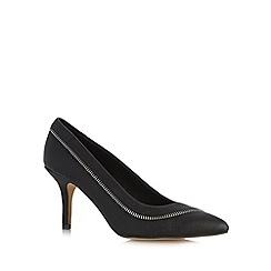 Call It Spring - Black 'Breiven' stiletto pointed toe court shoe