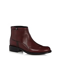 Call It Spring - Wine 'Dimuro' leather ankle boots