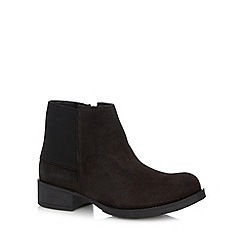 Call It Spring - Black 'Aina' suede ankle boots