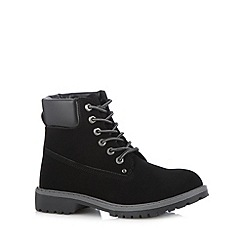 Call It Spring - Black 'Grywia' lace up boots