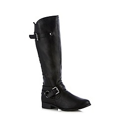 Call It Spring - Black 'Bawen' high leg boots