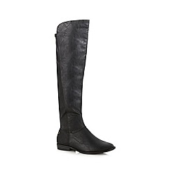 Call It Spring - Black 'Zahavah' high leg boots