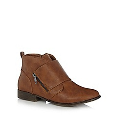 Call It Spring - Tan 'Ibalin' ankle boots