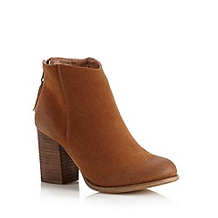 Call It Spring - Tan 'Lidwine' high ankle boots