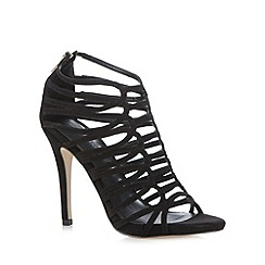 Call It Spring - Black 'Taucia' cage high sandals