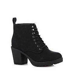 Call It Spring - Black 'Hiesen' high ankle boots