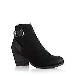 Call It Spring - Black 'Boscomare' mid ankle boots
