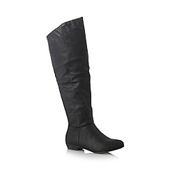 Call It Spring - Black 'Lalonde' high leg boots