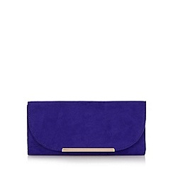 Call It Spring - Purple 'Yoakum' faux microsuede clutch bag