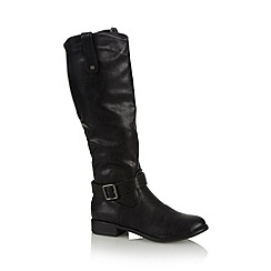 Call It Spring - Black 'Dalmeny' riding boots