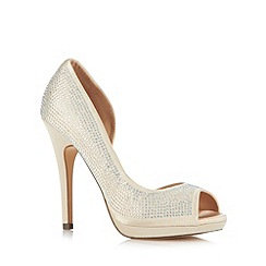Call It Spring - Light gold 'Baggerly' high court shoes