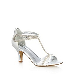 Call It Spring - Silver 'Orlovsky' diamant  high sandal heels