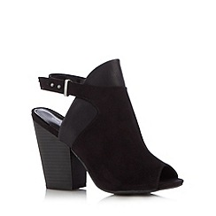 Call It Spring - Black 'Newth' high sling back shoes